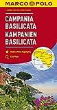 MARCO POLO Karte Italien Blatt 12 Kampanien, Basilicata 1:200 000 (MARCO POLO Karten 1:200.000)