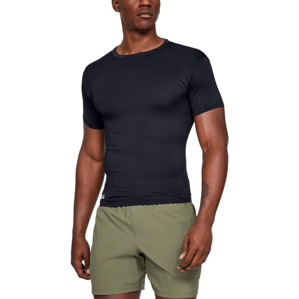 Under Armour Men HeatGear Tactical Compression Short Sleeve T-Shirt