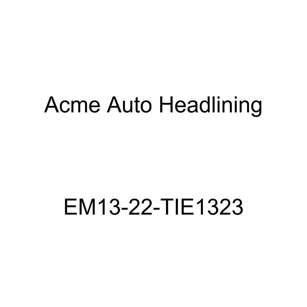 1937 Buick Limited Series 90 4 Door Limousine - 8 Bows Acme Auto Headlining EM13-22-TIE1323 Light Blue Replacement Headliner
