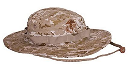 USMC Large DIGITAL DESERT MARPAT (MARINE PATTERN) BOONIE HAT FIELD COVER  USMC ISSUE ( f0231fdc87a