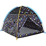 Pacific Play Tents Galaxy Dome Tent w/Glow in the Dark Stars