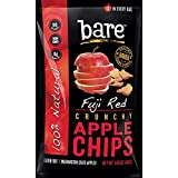 Bare Baked Crunchy Fuji Apple Crisps (Pack of 6 Bags)