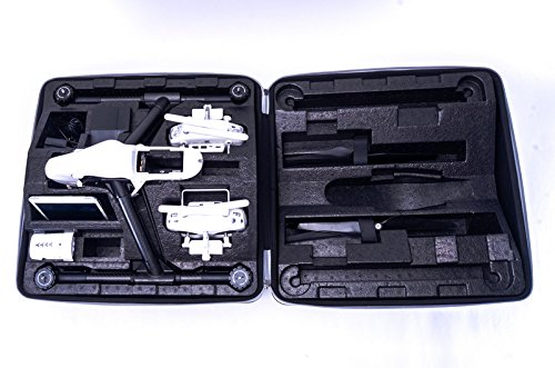 Bestem Aerial DJI Inspire 1 Black Waterproof 1680D EVA Shell Unique Hardshell InsPak Backpack Carrying Case with Gimbal Lock for DJI Inspire 1 (X3 only) by Bestem Aerial (Image #6)