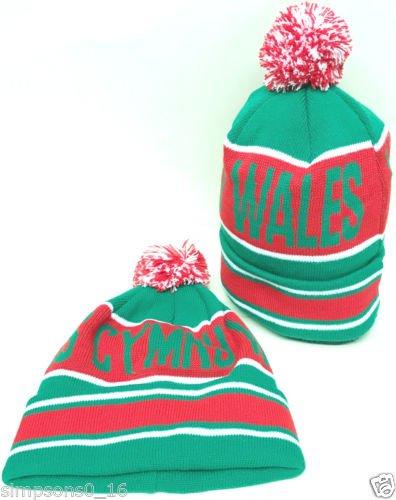 Wales Bobble Hat   B01N5D7CDB