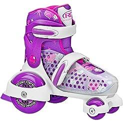 Fun Roll Boy's Jr Adjustable Roller Skat...