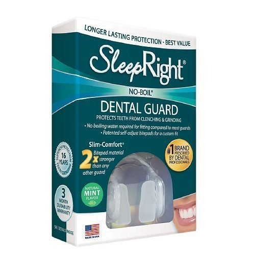 (SleepRight Slim Comfort Dental Guard, Mint--1 ea)