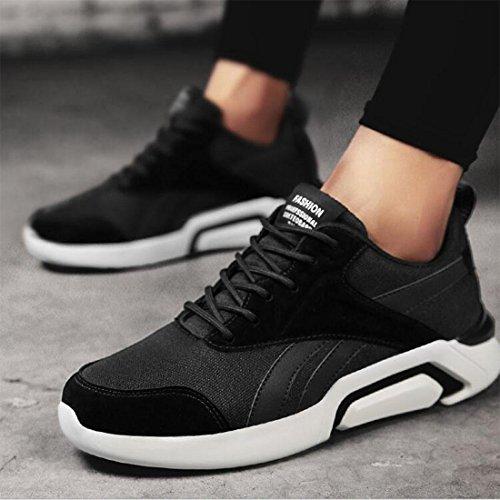 Trendige Jogging-Schuhe für Freizeit-Männer black