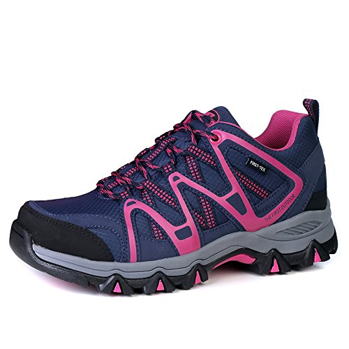 Image of The First Outdoor Women Waterproof Breathable Climbing Walking Hiking Shoes Sneaker, US 8.5