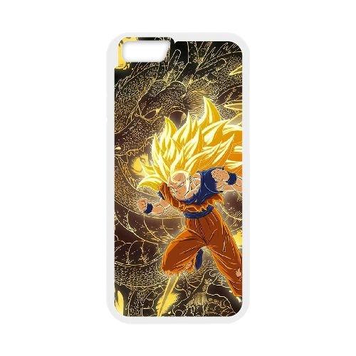 Dragon Ball Z 022 coque iPhone 6 4.7 Inch Housse Blanc téléphone portable couverture de cas coque EOKXLLNCD19881