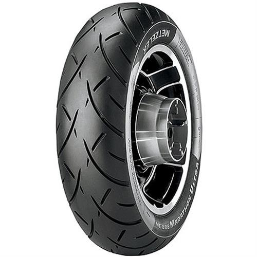Metzeler ME888 Marathon Ultra Rear Tire - MU85B16, Load Rating: 77, Position: Rear, Rim Size: 16, Speed Rating: H, Tire Application: Cruiser, Tire Size: MU85-16, Tire Type: Street 2318900