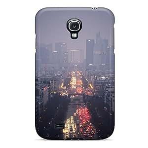 New Arrival Paris Cityscape Dusk TziqEib5446gUtbR Case Cover/ S4 Galaxy Case