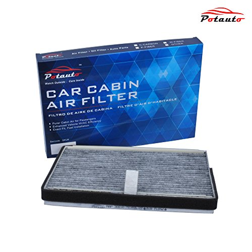 POTAUTO MAP 3001C Heavy Activated Carbon Car Cabin Air Filter Replacement compatible with BUICK, CHEVROLET, OLDSMOBILE, PONTIAC