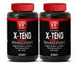 Natural testosterone booster muscle growth - X-TEND Male ENHANCEMENT with Tongkat Ali, Maca, L-Arginine, Muira Puama, Tribulus, Panas Ginseng - 2 Bottle 120 Tablets