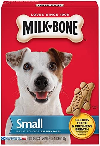 Milk-Bone Original Dog Treats for Small Dogs, 24 Ounce Pack of 2