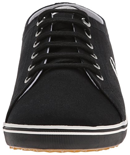 Fred Zeppa Uomo Sandali Kingston Nero 42 Nero con Twill Perry EU PAwqFrxPH