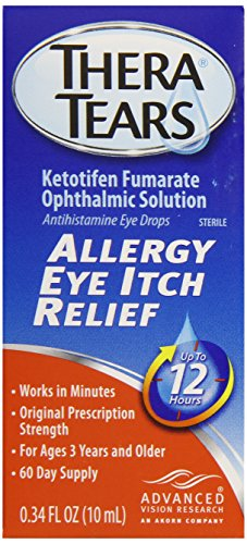 Thera larmes allergie Eye Itch Relief, 0,34 Fluid Ounce