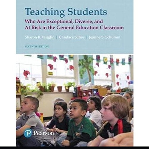 Teaching Students Who are Exceptional, Diverse, and At Risk in the General Educational Classroom, Loose-Leaf Version (7th Edition)