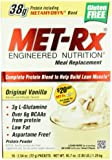 MET-Rx Original Meal Replacement Original Vanilla, 18 count (2.54 ounce packets)