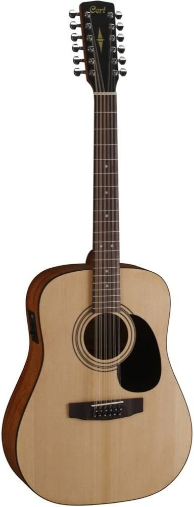 Guitarra acustica electrificada de 12 cuerdas tipo Dreadnought