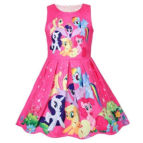 - Girl Nightgown, Short Sleeve Cartoon Casual Dress T-Shirt Bird 100% Cotton 5T
