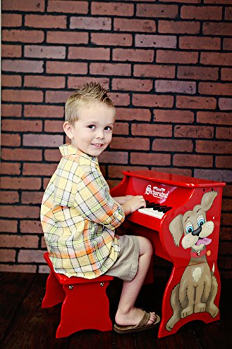 Schoenhut Learn-to-Play Toy Piano With 25-Keys and Patented Play-by-Color Tri-Play Learning System by Schoenhut (Image #2)