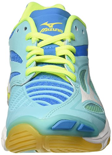 Divablue White de para Wave Zapatos Blueradiance Multicolor Lightning Z3 Mizuno Mujer Voleibol W q7RgPqw