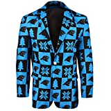 NFL Carolina Panthers Men's Patches Ugly Business Jacket, Size 50/XX-Large