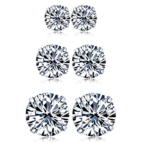18k-white-gold-plated-925-sterling-silver-round-cut-simulation-diamond-cz-stud-earrings-3-pairs-set-