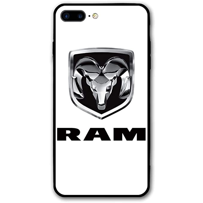 promo code be58e 78566 Amazon.com: Ram Trucks Dodge Logo iPhone 8 Plus Case Shockproof and ...