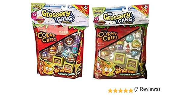 Trash Pack Grossery Gang 20 Gross Figures total (2 Ea 10 pack) by Grossery Gang: Amazon.es: Juguetes y juegos