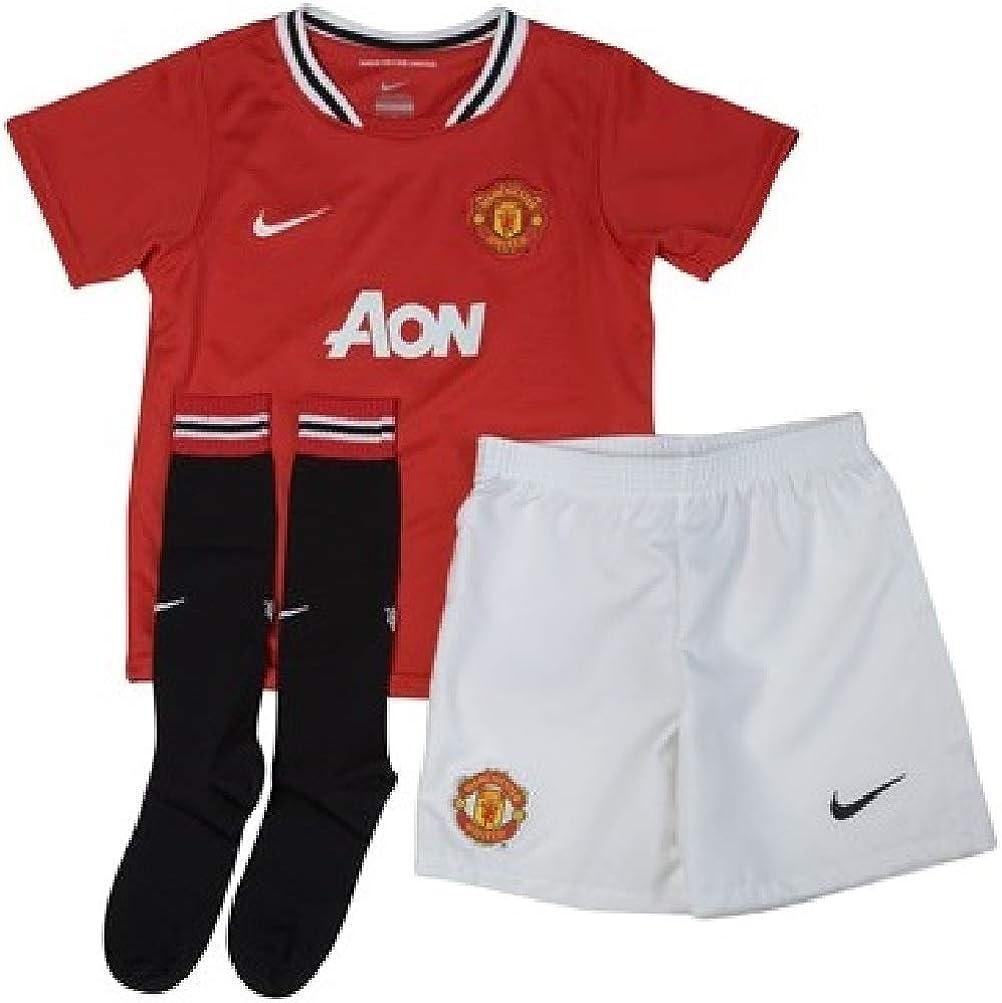 Manchester United Home Toddler's Soccer Kit- 2011/12 (L) Red