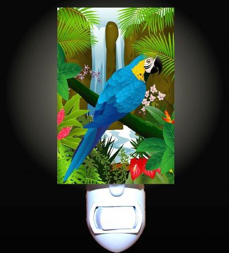Waterfall Parrot Decorative Night Light Waterfall Night Light