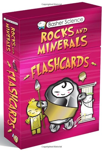 Basher Flashcards: Rocks and Minerals: A Diamond Deck (Basher Science) (Basher Science Rocks And Minerals)