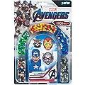 Perler Per8063070 Marvel Avengers Fuse Bead Kit 2004pc 4 Patterns Multicolor