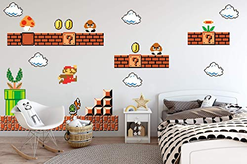 - Nintendo Wall Graphics - Super Mario Bros