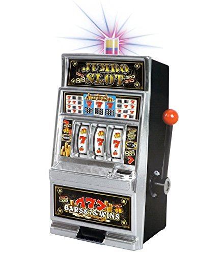 Liberty Imports Lucky Sevens Jumbo Slot Machine Bank Replica (Bank Slot Jumbo)