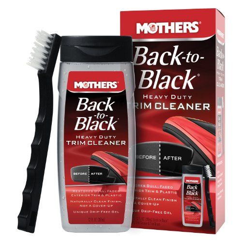 Mothers 06141 Back-to-Black Heavy Duty Trim Cleaner Kit (Einszett Plastic Deep Cleaner compare prices)