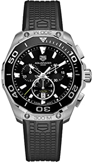 TAG Heuer Aquaracer Mens Watch on Black Rubber Strap CAY111A.FT6041