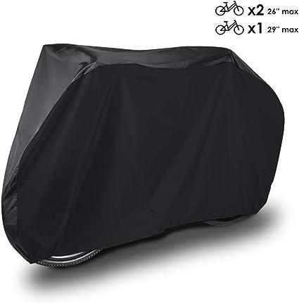 HAUEA Funda para Bicicleta Cubierta Impermeable 190T Protector ...