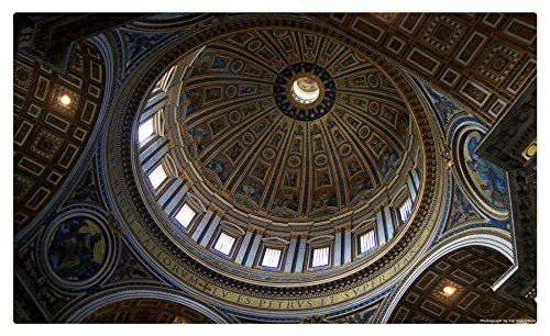 (Temples Basilica di San Pietro, Vatican Cities Postcard Post card)