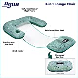 Aqua Mosaic 3-in-1 Pool Chair Lounge, Inflatable