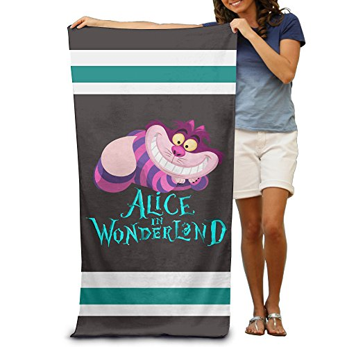 Ness Costume For Sale (Alice In Wonderland Cheshire Cat Beach Towel 30x50inche,Adult)