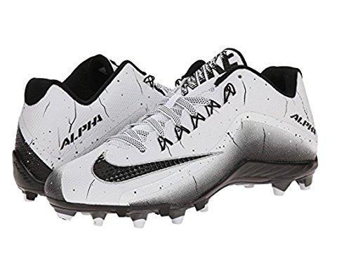 Nike Alpha Pro 2 Td Voetbalcleats (wit / Zwart-zwart, 10 D (m) Us)