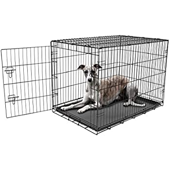 Amazon Com New World 42 Quot Folding Metal Dog Crate