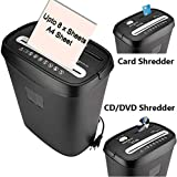 SToK ST-30CC New Cross Cut Paper Shredder for A4 Size Sheets & CD/DVD/Credit Card/Can Shredd 8 Sheets at Once