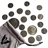 old 2 dollar bill - The Great American Coin Collection. 4 Liberty Nickels, 12 1943 Steel Wheat Pennies, 1 40% silver Half Dollar, and 1 Eisenhower Dollar. 18 Old Coins With a Silver Coin by Vx Investments