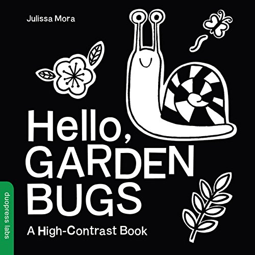 Hello, Garden Bugs: A High-Contrast Book ()