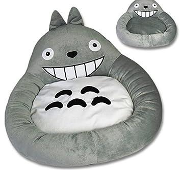 Inspirado por mi vecino Totoro terciopelo suave mascota perro cachorro gato cama caliente Casa felpa acogedor nido Mat Pad: Amazon.es: Productos para ...