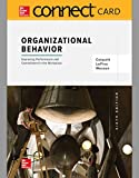 img - for Connect 1-Semester Access Card for Organizational Behavior book / textbook / text book