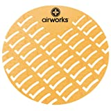 Hospeco Airworks AWUS231-BX Yellow Citrus Grove Urinal Screen (Box of 10)